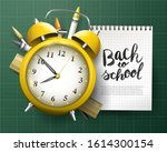back to school concept with... | Shutterstock .eps vector #1614300154