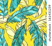 seamless pattern with colored... | Shutterstock . vector #161431259