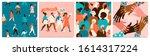 set of vector illusttation. 8... | Shutterstock .eps vector #1614317224
