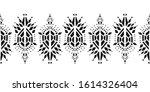 ikat pattern etnic indian...   Shutterstock .eps vector #1614326404