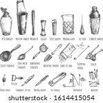 vector illustration of bar...   Shutterstock .eps vector #1614415054