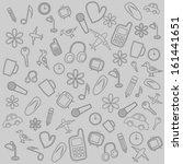 modern pattern. texture... | Shutterstock .eps vector #161441651