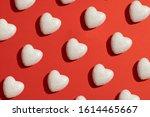 valentines day love pattern... | Shutterstock . vector #1614465667