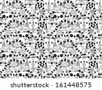 seamless pattern with cute... | Shutterstock .eps vector #161448575
