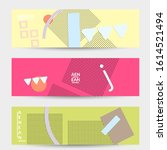 abstract educational background.... | Shutterstock .eps vector #1614521494