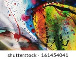 abstract watercolor texture.... | Shutterstock . vector #161454041