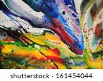abstract watercolor texture.... | Shutterstock . vector #161454044