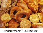 variety of bakery products | Shutterstock . vector #161454401
