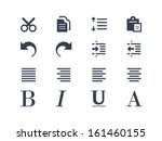 publishing and text editing... | Shutterstock .eps vector #161460155