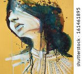 Watercolor Portrait Of...