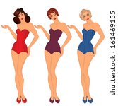 1940s,1950s,40s,50s,adult,art,attractive,beach,beautiful,beauty,body,classic,clip,curvaceous,decade