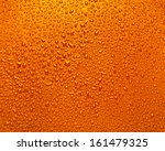 drops of water on a bright... | Shutterstock . vector #161479325
