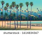 A Tropical Beach In California...