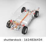 Modern Electric Car Chassis X...