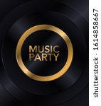 music party poster  premium... | Shutterstock .eps vector #1614858667