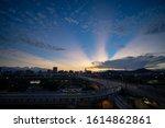 Dawn Or Daybreak Of The Taipei