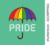 Rainbow Umbrella Pride Lgbt...