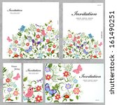 Set Of Floral Cards For Your...