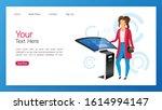 product promotion kiosk landing ...