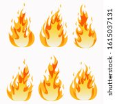 fires image  hot flaming...   Shutterstock .eps vector #1615037131