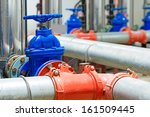 industrial valve in... | Shutterstock . vector #161509445