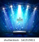 spotlight effect scene... | Shutterstock .eps vector #161515811