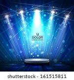 spotlight effect scene... | Shutterstock .eps vector #161515811