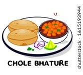 Chole Bhature Indian Punjabi...