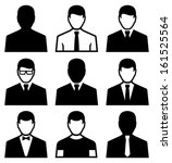 man icon | Shutterstock .eps vector #161525564