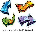 graffiti art design elements... | Shutterstock .eps vector #1615346464