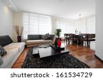 interior design  big modern... | Shutterstock . vector #161534729