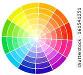 standard color wheel isolated... | Shutterstock .eps vector #161541251