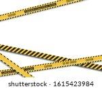 police lines. crime scene.... | Shutterstock .eps vector #1615423984