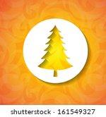 christmas applique background.... | Shutterstock .eps vector #161549327