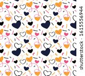 pattern with hand drawn lines ...   Shutterstock .eps vector #1615556944