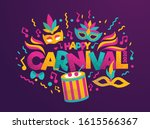 vector illustration. festive... | Shutterstock .eps vector #1615566367