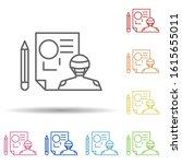 data  design in multi color...