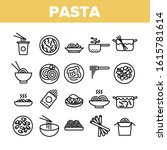 pasta dish gastronomy...   Shutterstock .eps vector #1615781614