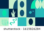 modern artwork of abstract... | Shutterstock .eps vector #1615826284