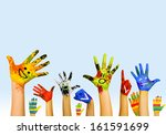 image of human hands in... | Shutterstock . vector #161591699