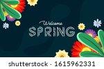 spring background illustration... | Shutterstock .eps vector #1615962331