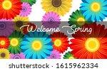 spring background illustration... | Shutterstock .eps vector #1615962334