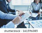 image of businessperson... | Shutterstock . vector #161596385
