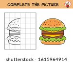 complete the picture of a... | Shutterstock .eps vector #1615964914