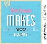 vintage template   retro design ... | Shutterstock .eps vector #161604149