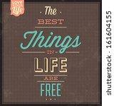 vintage template   retro design ... | Shutterstock .eps vector #161604155