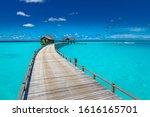 Amazing Maldives Paradise Beach....