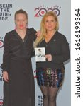 Small photo of JANUARY 06 - ASTORIA, NY: Kirstine Barfod and Sigrid Dyekjaer attend the Cinema Eye 2020 Awards Ceremony at the Museum of the Moving Image on January 6, 2020 in New York City.
