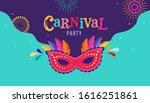 carnival  party  rio carnaval ... | Shutterstock .eps vector #1616251861