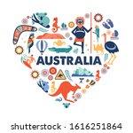 australia illustration of heart ...   Shutterstock .eps vector #1616251864